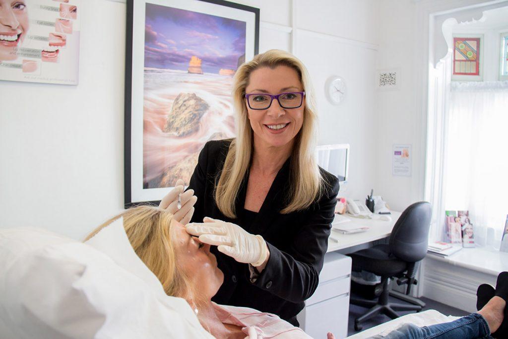 Cosmetic Nurse - Kenlyn | Giving a patient dermal fillers