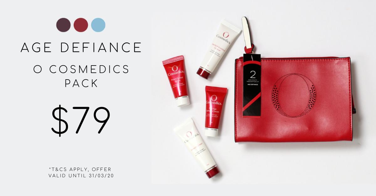 O cosmedics age defiance pack