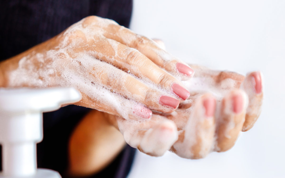 Help! My hands are dry and irritated from washing
